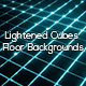 Lightened Cubes Floor Backgrounds - GraphicRiver Item for Sale