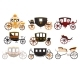 Retro Carriages Set