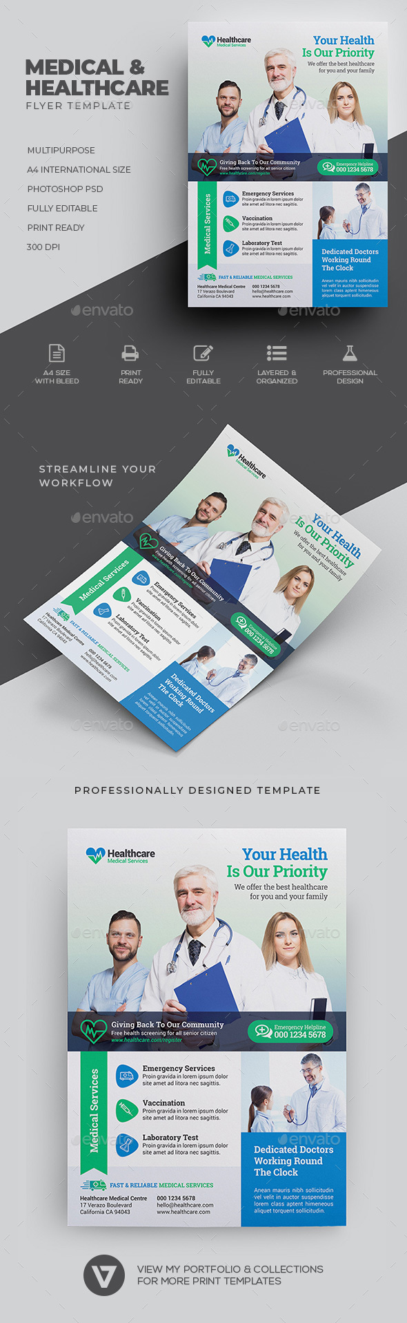 Medical Flyer - Corporate Flyers