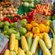 Corn, peppers and other vegetables for sale - PhotoDune Item for Sale