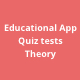 Educational Theory and Quiz Tests App - CodeCanyon Item for Sale