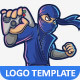 Free Download Gaming Ninja Logo Template Nulled