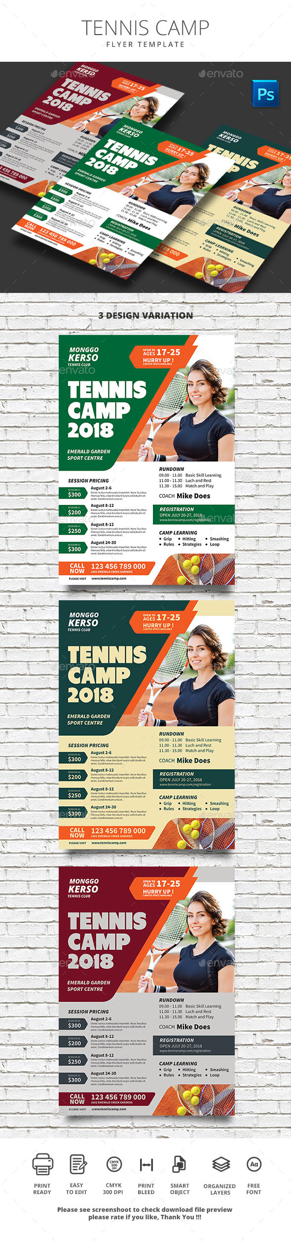Tennis Camp - Sports Events