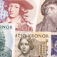 Old money from Sweden, a background  - PhotoDune Item for Sale