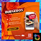 Burger Banner - GraphicRiver Item for Sale