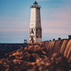 Fishermen and lighthouse - PhotoDune Item for Sale