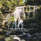 Waterfall silhouette - PhotoDune Item for Sale