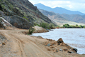 Scenic C13 route in Namibia along the Orange River - PhotoDune Item for Sale