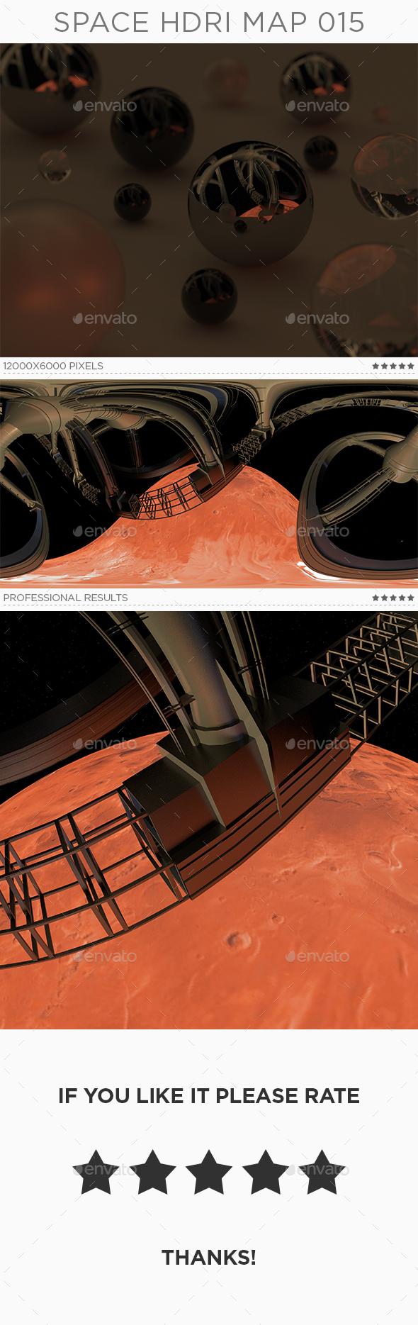 Space HDRi Map 015 - 3DOcean Item for Sale