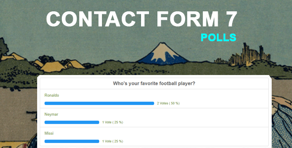 Contact Form 7 Polls - CodeCanyon Item for Sale