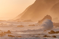 Natural sepia coastal sunset scene - PhotoDune Item for Sale