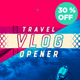 Travel Vlog Opener - VideoHive Item for Sale