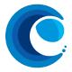 Wave Ocean C Letter Logo
