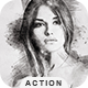 Sketch Drawing - Photoshop Action - GraphicRiver Item for Sale
