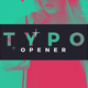 Free Download Typographic Opener Nulled