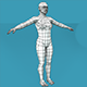 Low Poly Base Character Female - 3DOcean Item for Sale