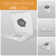 Pizza Box Mockup - GraphicRiver Item for Sale
