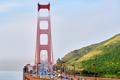 Golden Gate Bridge view at foggy morning - PhotoDune Item for Sale