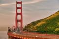 Golden Gate Bridge view at sunrise, San Francisco - PhotoDune Item for Sale