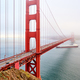 Golden Gate Bridge view at foggy day - PhotoDune Item for Sale