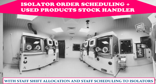 Isolator Schedulers