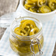 Slices of preserved Jalapeno pepper. - PhotoDune Item for Sale