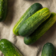 Raw Organic Green Pickling Cucumbers - PhotoDune Item for Sale