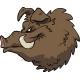 Cartoon Boar's Head - GraphicRiver Item for Sale