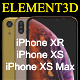 Free Download Element3D – iPhone XS - XR Collection Nulled