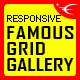 Famous - Responsive Image And Video Grid Gallery WordPress Plugin - CodeCanyon Item for Sale