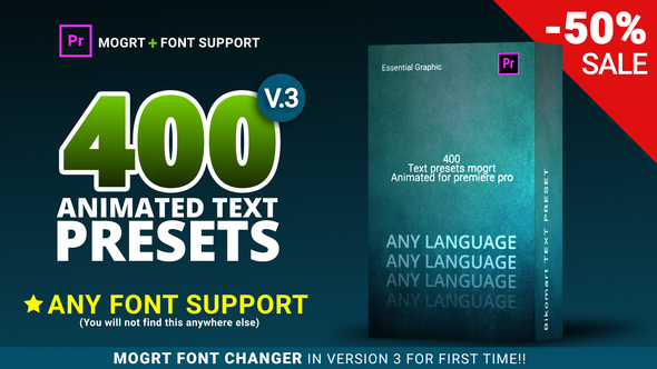 text preset pack for premiere pro by bikomart videohive