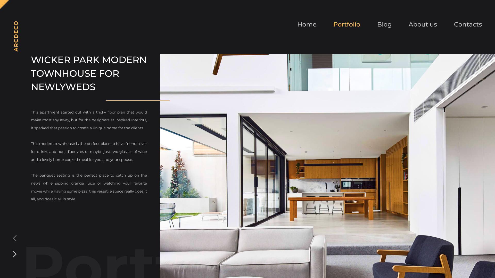 Arcdeco Interior Design Architecture Decor Sketch Template By