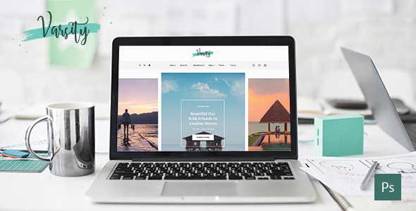 Personal Blog Templates from ThemeForest