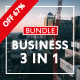 Free Download Special Business Bundle 3 IN 1 PowerPoint Templates Nulled