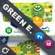 Green Energy Postcard Bundle Templates - GraphicRiver Item for Sale