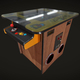 Classic Cocktail Table Arcade Game Machine - 3DOcean Item for Sale