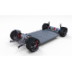Tesla Roadster 3 Motor Chassis - 3DOcean Item for Sale