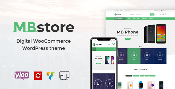 MBStore - Digital WooCommerce WordPress Theme