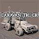 Post Apocalyptic Caravan Truck - 3DOcean Item for Sale
