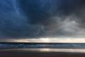 Gathering storm on beach - PhotoDune Item for Sale