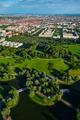 Aerial view of Olympiapark . Munich, Bavaria, Germany - PhotoDune Item for Sale