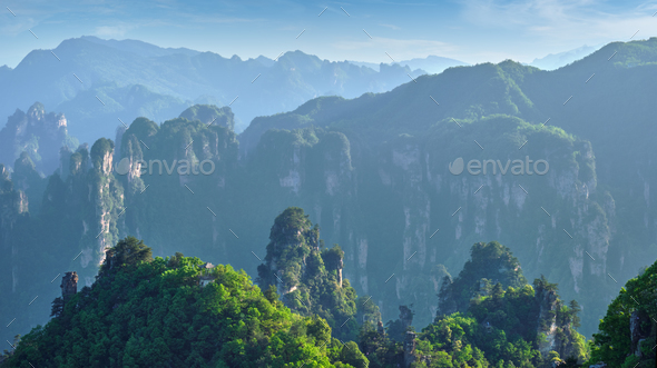 Zhangjiajie mountains, China - Stock Photo - Images
