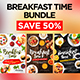 Breakfast Time Bundle - GraphicRiver Item for Sale