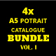 A5 Brochure / Catalogue Bundle Vol. 1 - GraphicRiver Item for Sale
