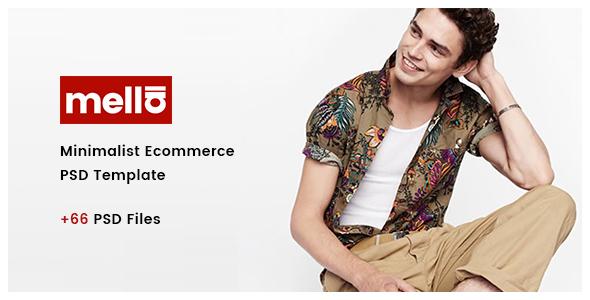 Mella - Minimalist Ajax eCommerce PSD Template - Fashion Retail