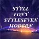 StyleSevenModern-BoldItalic