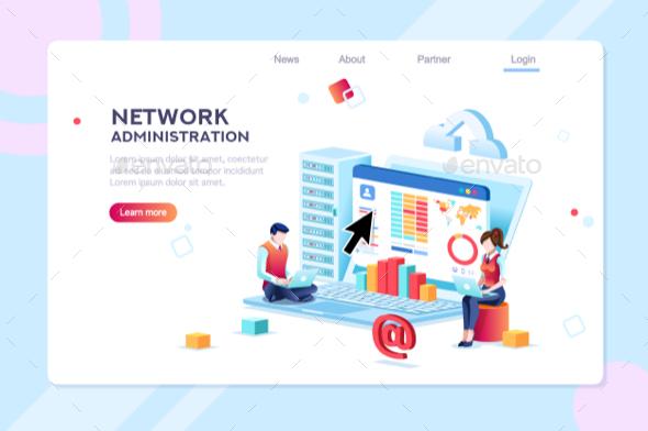 Data Center Administration Concept - Miscellaneous Conceptual
