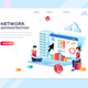 Data Center Administration Concept - GraphicRiver Item for Sale