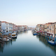 Grand Canal in Venice, clear sky in the early morning, Italy - PhotoDune Item for Sale