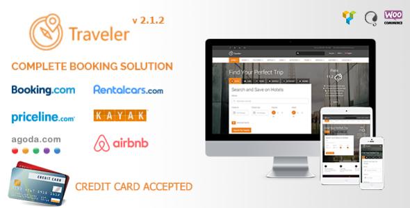 Traveler - Travel Booking WordPress Theme - Travel Retail